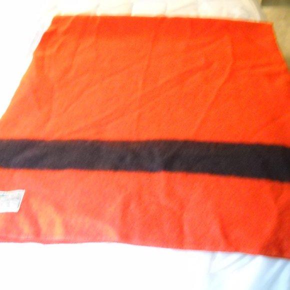 Vintage ORRLASKIN Wool Blanket 66 X 83